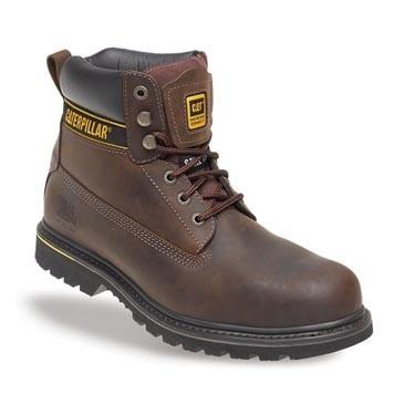 5b439482c96 CAT Holton Steel Toe Cap Boots