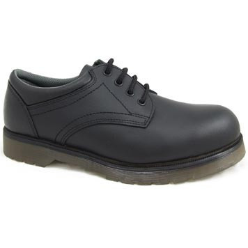 Leather Air Cushion Sole Steel Toe Cap Safety Shoes