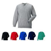 russell v neck sweatshirt main image
