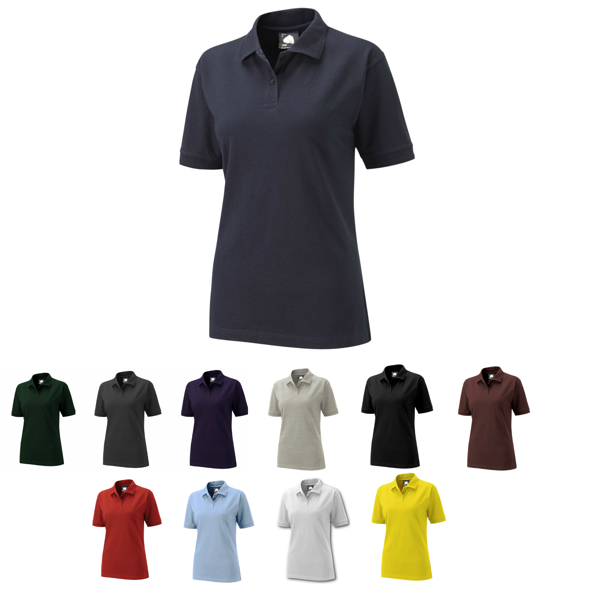 72019fbb2c Ladies Premium Polo Shirt