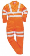rt42 Hi Vis Poly-Cotton Coverall